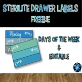 Drawer Labels Editable FREEBIE
