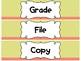 Drawer Labels - Grade File Copy