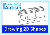 Drawing 2D Shapes Autism