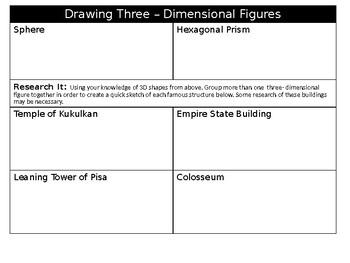 Drawing 3D Figures: Geometry