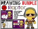 Drawing & Activity Bundle - FORTNITE RAPTOR