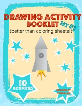 Drawing Activity Printables Set of 10.