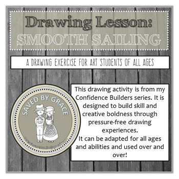 Drawing Activity to Build Confidence and Skill. No prep art lesson. Homeschool