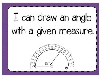 Drawing Angles Interactive Notebook Activity & Quick Check TEKS 4.7D