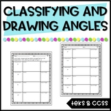 Drawing Angles Practice (and Classifying Angles) TEKS & CCSS