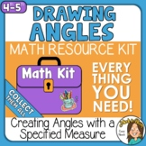 Drawing Angles with a Given Measure  Angles Math Kit Set 3
