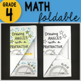 Doodle Notes - Drawing Angles with a Protractor Math Foldable