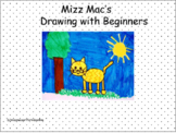Drawing with Beginners a directed drawing lesson