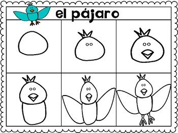 Drawing Animals in Spanish