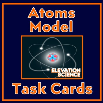 Bohr Atomic Model - Warm-ups or Exit Cards - Protons, Neutrons & Electrons