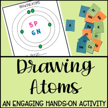 Drawing Atoms- Hands-On Exploration of Atoms and Subatomic Particles