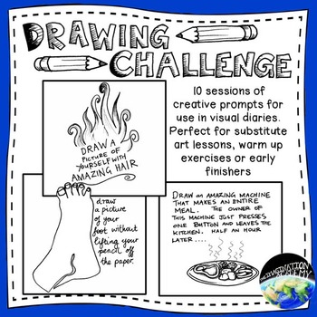 Drawing Challenge Creative Prompts