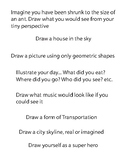 Drawing Challenge Prompts