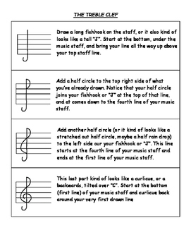 Drawing Clefs