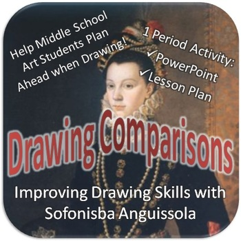 Drawing Comparisons: Improving Drawing Skills with Sofonisba Anguissola