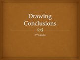 Drawing Conclusion (2-4) complete lesson including collaborative groups work