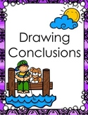 Drawing Conclusions Differentiated Task Cards