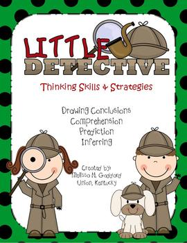 Drawing Conclusion, Inferring, Comprehension, and Prediction Little Detectives