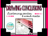 Drawing Conclusion- QR Listening Center and Work Mats