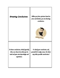 Drawing Conclusion Target Skill Handout