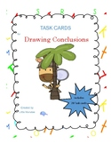 Quickie Comprehension Skill -  Drawing Conclusion Task Cards