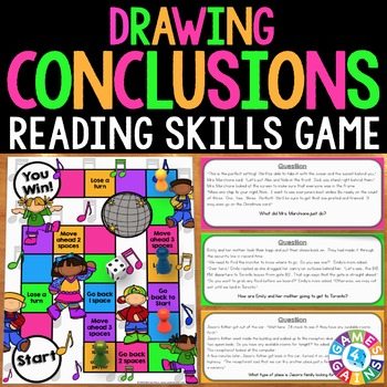Drawing Conclusions Activity: Drawing Conclusions Game (In