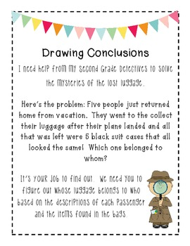 Drawing Conclusions Worksheets – webmart.me