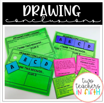 Drawing Conclusions Bundle