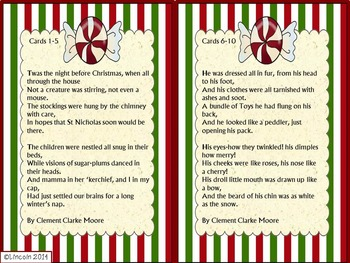 Christmas SCOOT - Drawing Conclusions, Cause/Effect, & Making Inferences