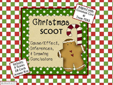 Christmas SCOOT - Drawing Conclusions, Cause/Effect, & Mak