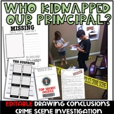 Drawing Conclusions Crime Scene Investigation (Digital Version Included)