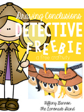 Drawing Conclusions Detective Craftivity FREEBIE