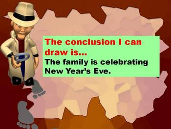 Drawing Conclusions Detective Powerpoint