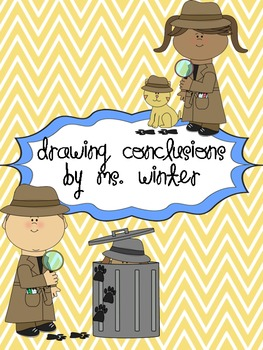 Drawing Conclusions FREEBIE