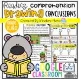 Drawing Conclusions Finding Clues and Comprehension Skills for Google Slides