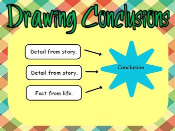 Drawing Conclusions Flipchart I By Brittany Ensminger Tpt