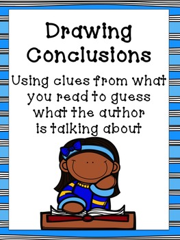 Drawing Conclusions Flipchart Worksheets And Anchor Chart Tpt