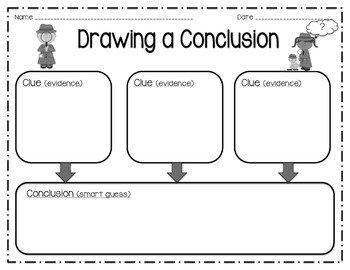 Drawing Conclusions - Graphic Organizer