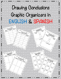 Drawing Conclusions Graphic Organizer English and Spanish