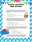 Drawing Conclusions: Happy Birthday