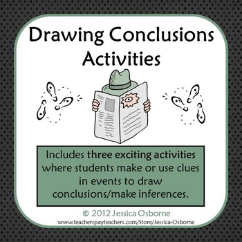 Drawing Conclusions (Inference) Activities