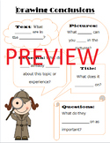 Drawing Conclusions Interactive Notebook Anchor Chart