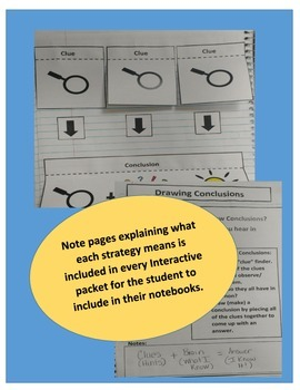 Drawing Conclusions Interactive Notebook for Any Story