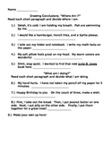 Drawing Conclusions Introduction Activity