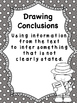 Drawing Conclusions Investigation: Whole Group/Center Acti