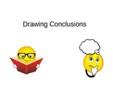 Drawing Conclusions Literacy Support Package