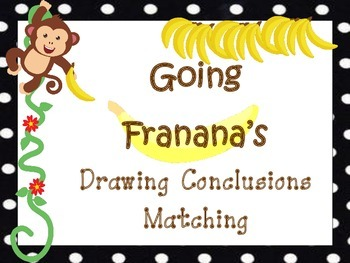 Drawing Conclusions Matching