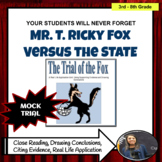 Drawing Conclusions  Mock Trial of Mr. T. Ricky Fox Vs. The State