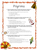 Drawing Conclusions: Pilgrims (Thanksgiving)