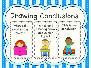 Drawing Conclusions Poster